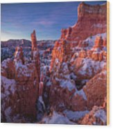 Bryce Tales Wood Print