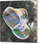 Bubble Fun Wood Print