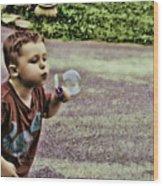 Bubble Liscious Wood Print
