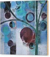 Bubble Tree - 055058167-86a7b2 Wood Print
