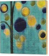 Bubble Tree - 42r1-cb4 Wood Print