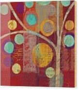 Bubble Tree - 85lc13-j678888 Wood Print