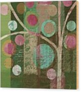 Bubble Tree - 85lc16-j678888 Wood Print