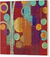 Bubble Tree - 85rc13-j678888 Wood Print