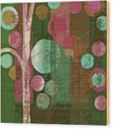 Bubble Tree - 85rc16-j678888 Wood Print