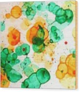 Bubbleicious Wood Print