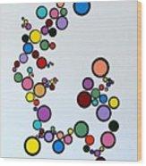 Bubbles2 Wood Print