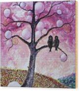 Bubbletree Wood Print