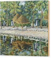 Buccaneer Island Wood Print