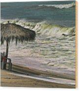 Bucerias Beach Mexico  Wood Print
