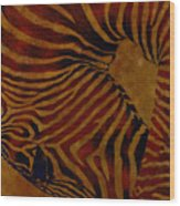 Buckin' Wild Wood Print