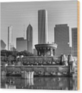 Buckingham Fountain - 2 Wood Print