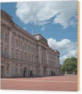 Buckingham Palace Wood Print