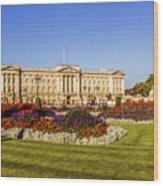 Buckingham Palace, London, Uk. Wood Print