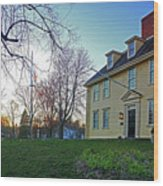 Buckman Tavern At Sunset Wood Print