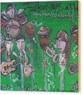 Buckner Funken Jazz Wood Print