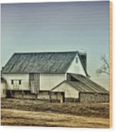 Bucks County Farm Wood Print