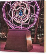 bucky ball Madison square park Wood Print by John Farnan