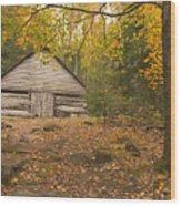 Bud Ogle Barn  Wood Print