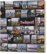 Budapest In October Wood Print