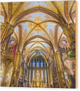 Budapest - Mathias Cathedral Wood Print