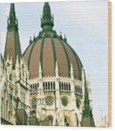 Budapest Parliment Wood Print