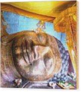 Budda Sleep Wood Print