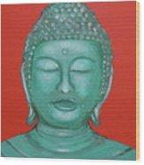 Buddah I Wood Print