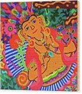 Buddah Love Wood Print