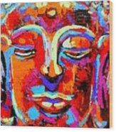 Buddha 3 Wood Print
