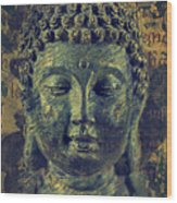 Buddha End Of Suffering Wood Print
