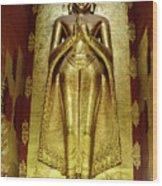 Buddha Figure 1 Wood Print