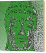 Buddha Head 4 Wood Print