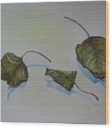 Buddha Leaf 2 Wood Print