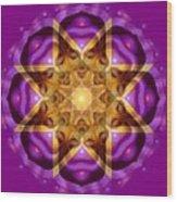 Buddha Mandala Wood Print