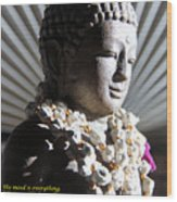 Buddha Mind Wood Print