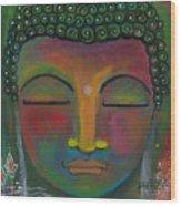 Buddha Painting Wood Print
