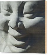 Buddha Smiles Wood Print