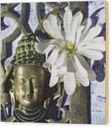 Buddha - Spring Wood Print