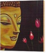 Buddha Wood Print