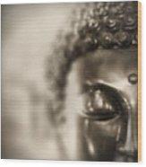 Buddha Thoughts Wood Print