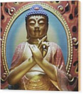 Buddha Tooth Relic Temple 3 Wood Print