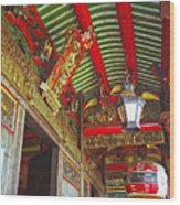 Nord Hoi Temple Ceiling Wood Print