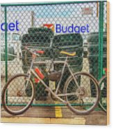 Budget Bicycle Wood Print