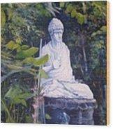 Budha Ubud Bali Indonesia 2008  Wood Print