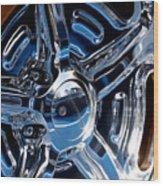 Budnik Wheel 01 Wood Print