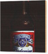 Budweiser - King Of Beers Wood Print