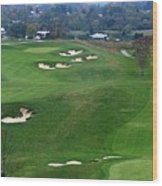 Buena Vista Golf Course Wood Print