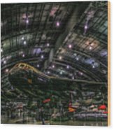 Buff B-52 Wood Print