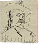 Buffalo Bill's Wild West - American History Wood Print